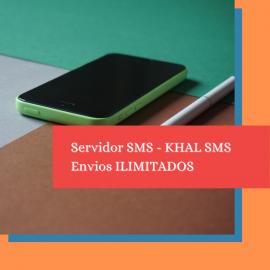 SMS SERVER - ILIMITADO MENSAL